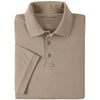 5.11 Womens Tactical Polo Silver Tan L
