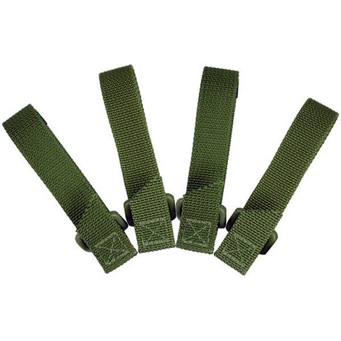 Image of Maxpedition 3.0 in TacTie Pack of 4 OD Green