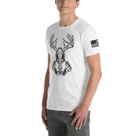 "Timber Whitetails Front & Shoulder ""Born To Hunt"" T-Shirt"