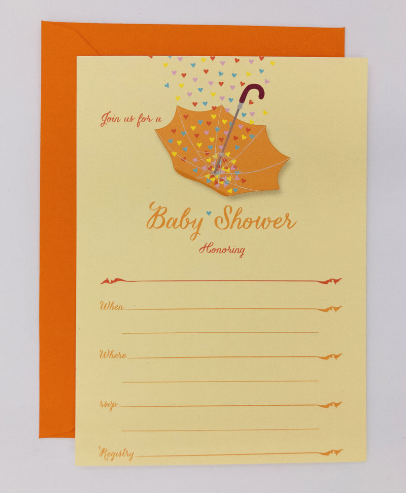 Baby Shower Invitations (Pack)