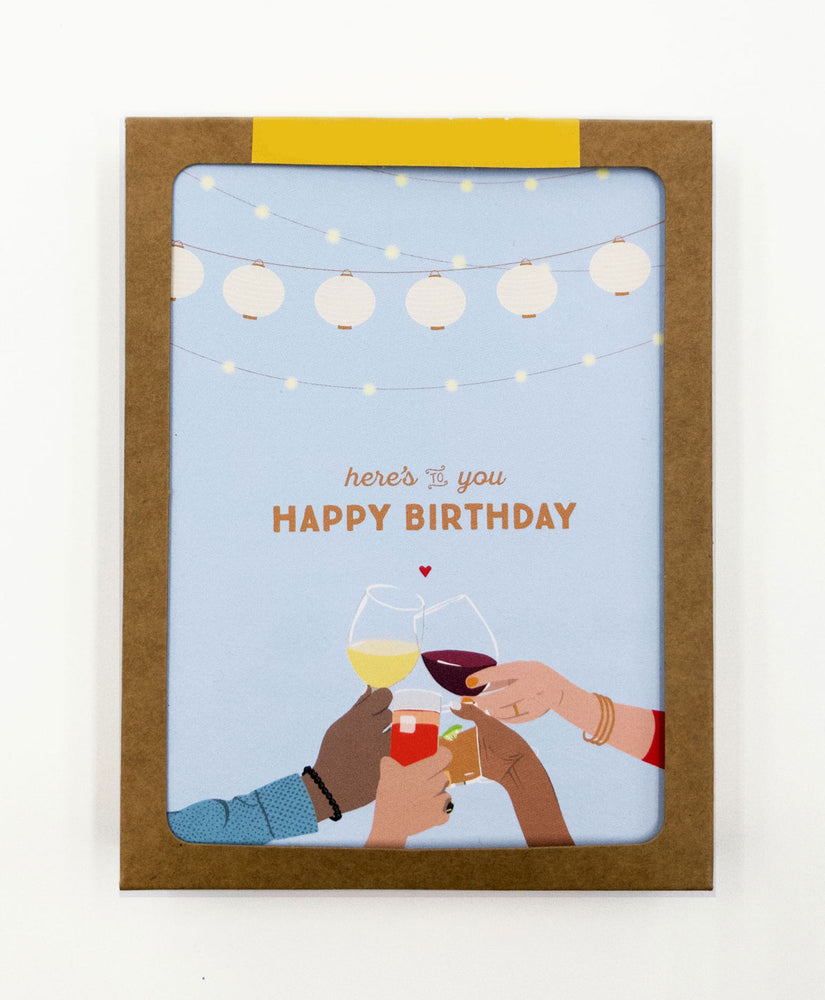 Happy Birthday Greeting Cards (Pack)