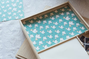 Doves, peace doves stationery writing set with envelopes and stamps. Wedding gifts, anniversary gifts, paper anniversary. Keepsake letter writing kit