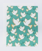 Doves Greeting Card (Single)