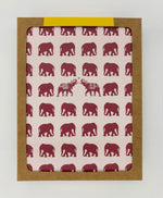 Elephants Greeting Cards (Pack)
