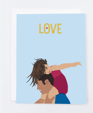 Father's Day Love Greeting Card (Single)