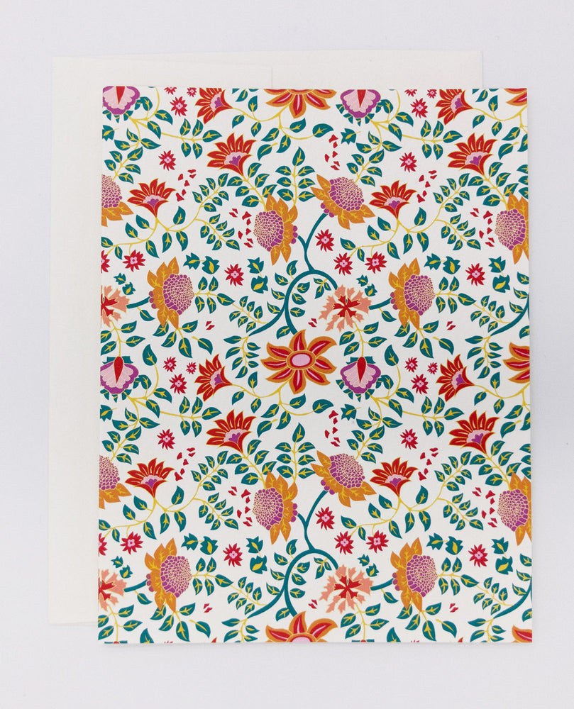 Flowers Greeting Card (Single)