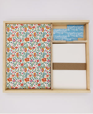 Flowers Letter Writing Kit