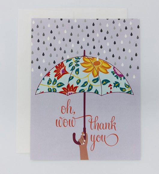 Thank You Greeting Card (Single)