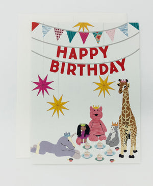 Kids Happy Birthday Card (Single)