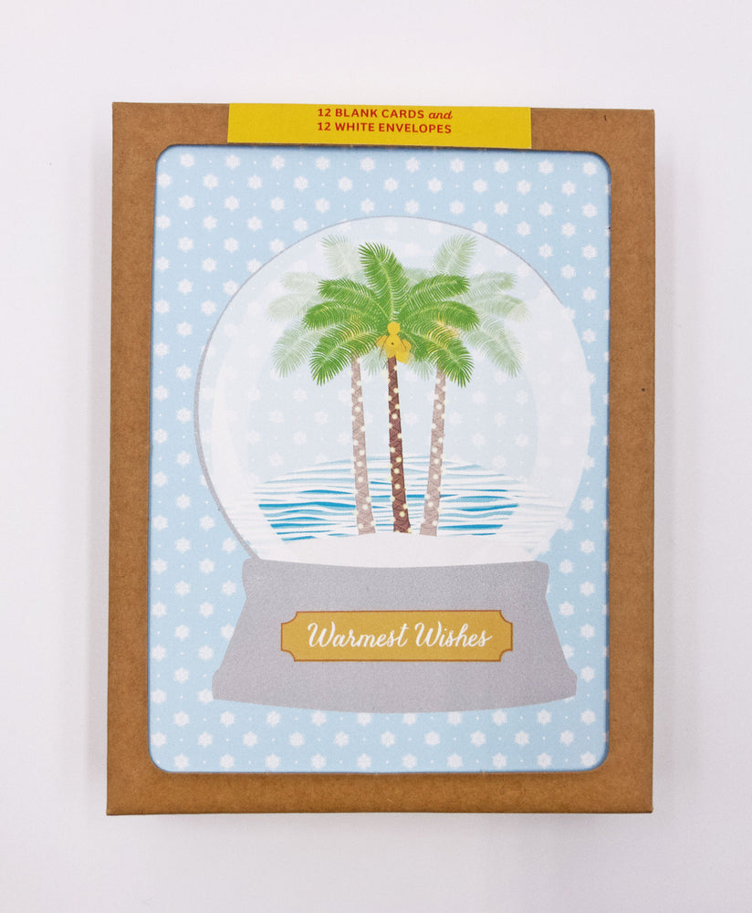 Holiday Snow Globe Greeting Cards (Pack)