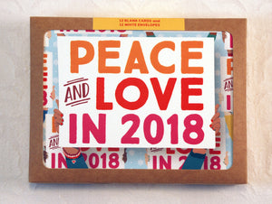 Holiday peace 2018 signs greeting cards pack me you paper holiday peace 2018 signs greeting cards pack m4hsunfo