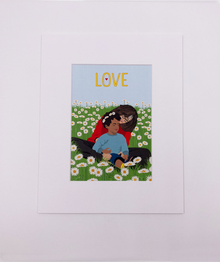 Mother's Love Art Print (5x7)