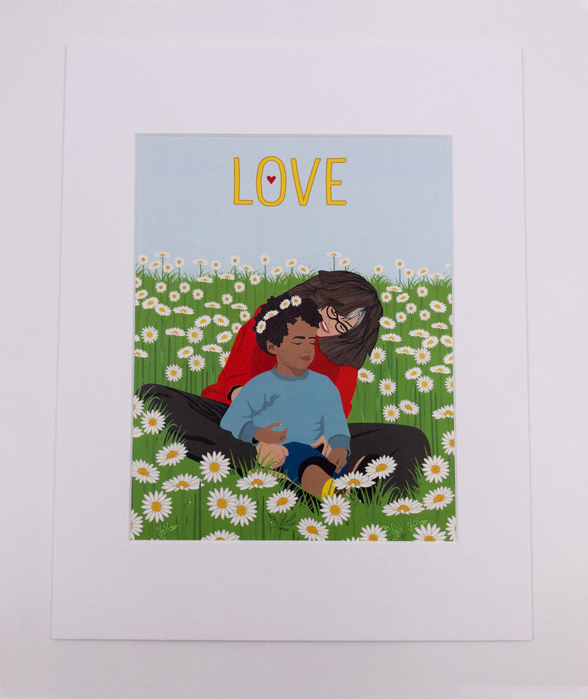 Mother's Love Art Print (8x10)