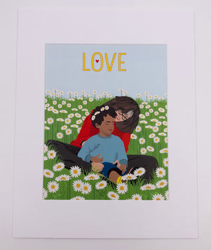 Mother's Love Art Print (11x14)