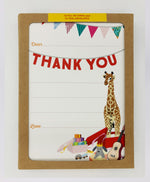 Kids Thank You Fill in Cards (Pack)