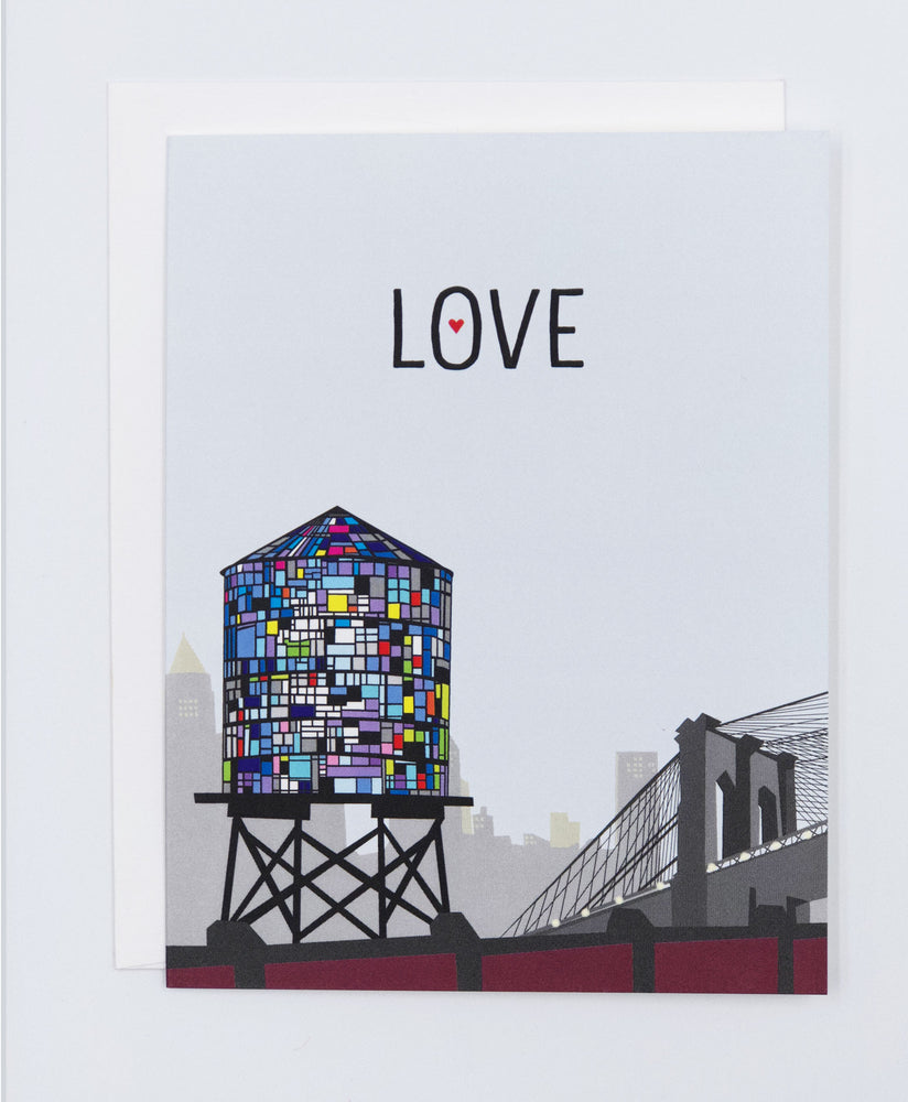 Love New York Greeting Card (Single)