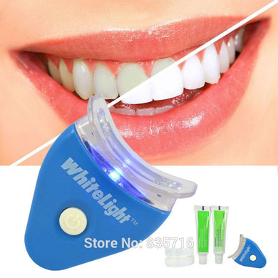 Hot White LED Light Teeth Whitening Tooth Gel Whitener Health Oral Care Toothpaste
