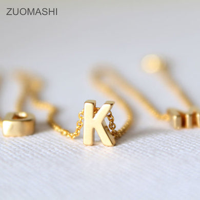 necklace gold letter necklace  initials name necklaces pendant