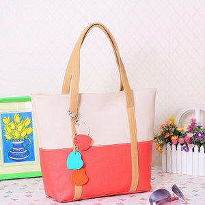 Women Leather Handbags Shoulder Bag Lady Casual Totes Sac A Main