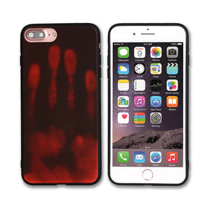 Soft TPU Thermal Sensor Case For iPhone 7 7 Plus 6 6S Plus Physical Heat Cases For Apple iPhone 5 5S SE Phone