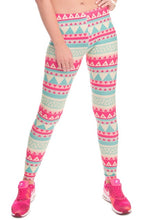 leggings 3D Printed color legins Ray fluorescence leggins pant legging