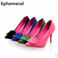 leather pointed toe thin high heels shoes sandals women pumps green black blue zapatos mujer