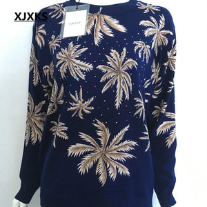 Jumper Autumn Winter Oversized Sweater Long Sleeve Women