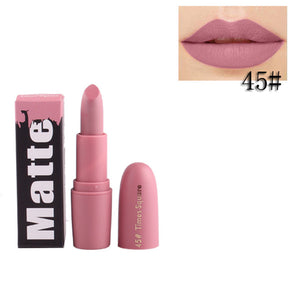 Lips Pen Makeup Beauty Waterproof Lip Pencil Matte Lipstick Batom Cosmetic
