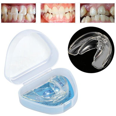 Braces Dental Mouthguard Straighten Teeth Tray Dental Orthotics Retainer
