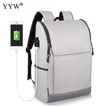 High Quality Male Backpack Oxford Backpack Personality With USB Interface Waterproof