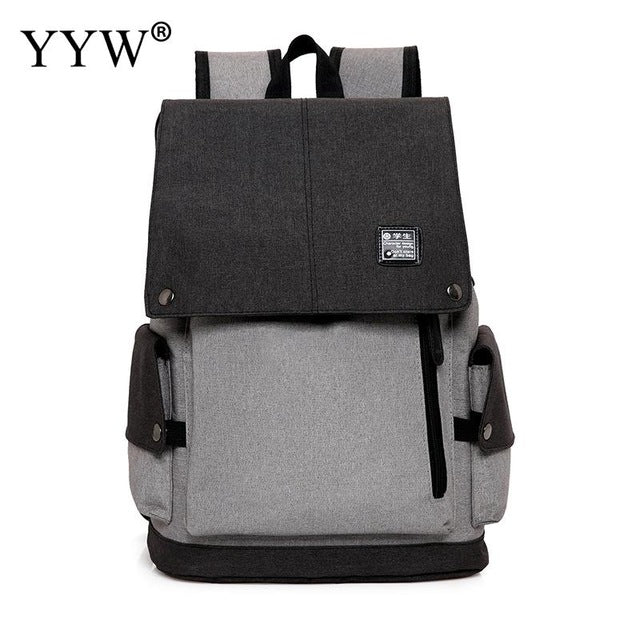15 inch Multifunction USB charging laptop backpack Teenager fashion Leisure Travel Mochila school notebook
