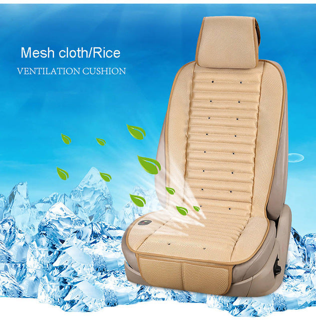 Cold Air Cushion Ventilation Car Seat Cover For Ford Edge Escape