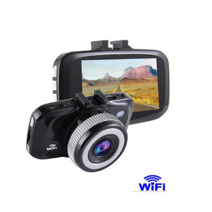 1080P WIFI car DVR LED Display Cyclic Recording Car Camera Night Vision
