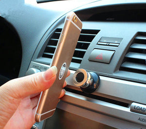 360 Degree Universal Car Phone Holder Magnetic Air Vent Mount Cell Phone Car Mobile Phone