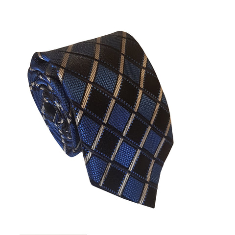 Inizio Classic Striking Blue Checked