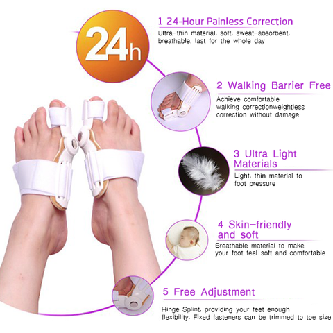 Apparel - Best Orthopedic Bunion Corrector - Adjustable And Non-Surgical Natural Treatment & Relief
