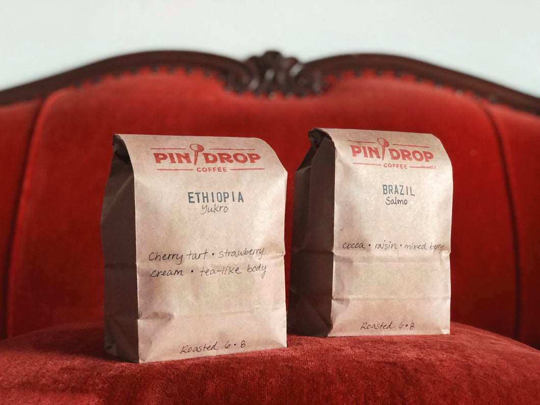 Pin Drop Coffee / Our Private Label