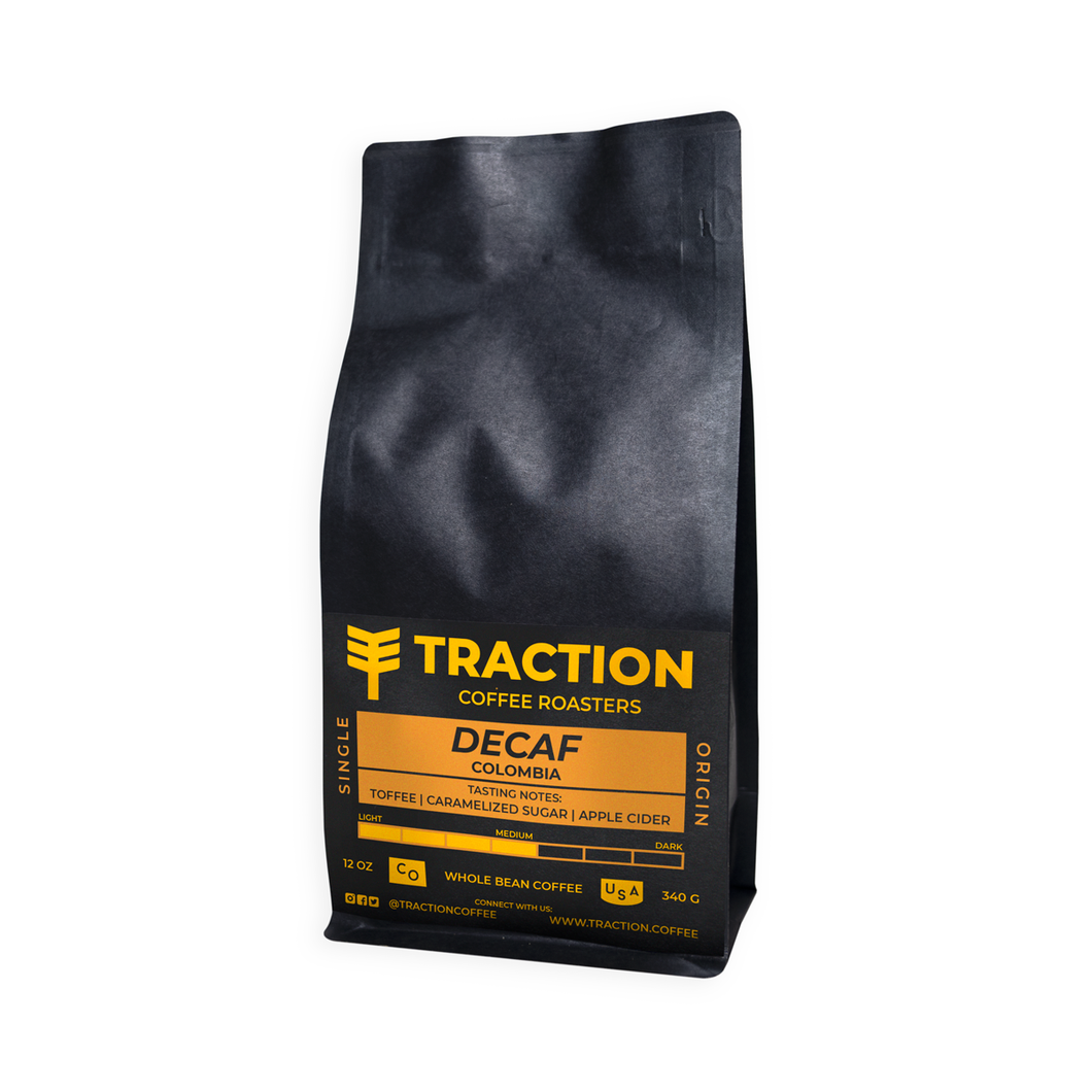 Decaf Colombia Planadas / Traction Coffee / Longmont