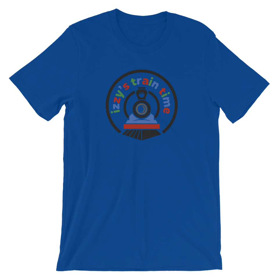Adult Train Time Logo T-Shirt