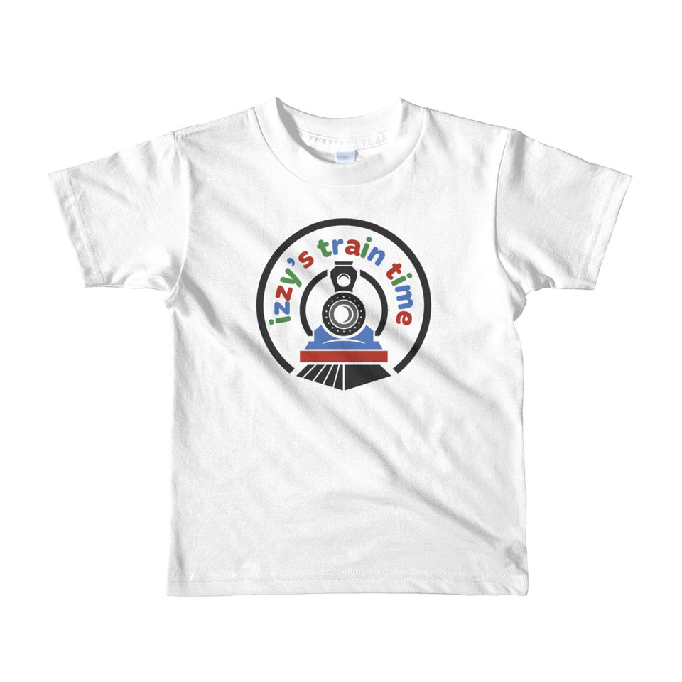 Toddlers Shirt - Izzy's Train Time