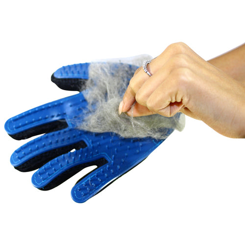 Pet Glove for Shedding, Bathing, Grooming, De-Shedding