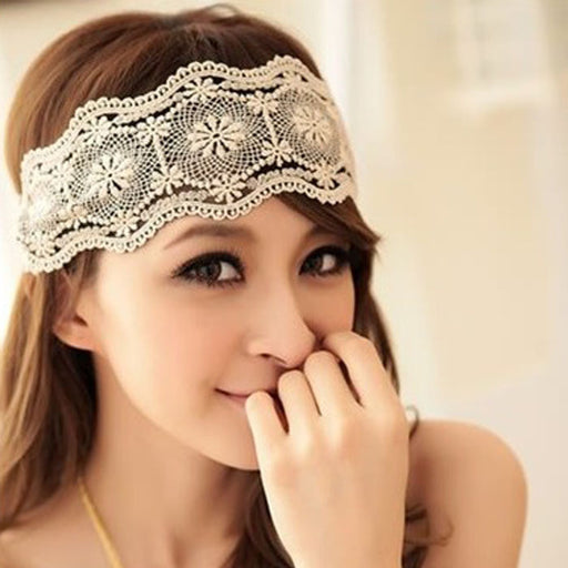 HairBand - Lace Retro