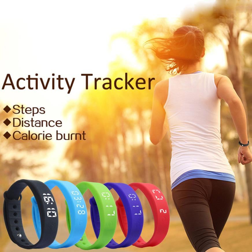 Wholesale Sport  3D LED Calorie Pedometer Smart Unisex Watch Gifts#