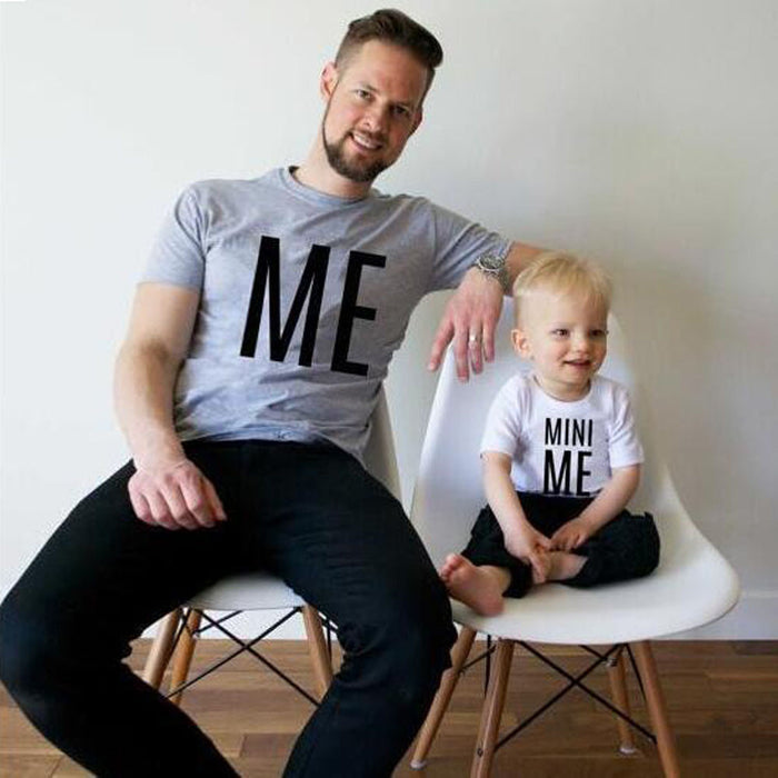 Family match clothes T-shirt  Toddler Infant Kids Baby Boys Girls Letter T shirt Tops Family Clothes Outfits drop shipping