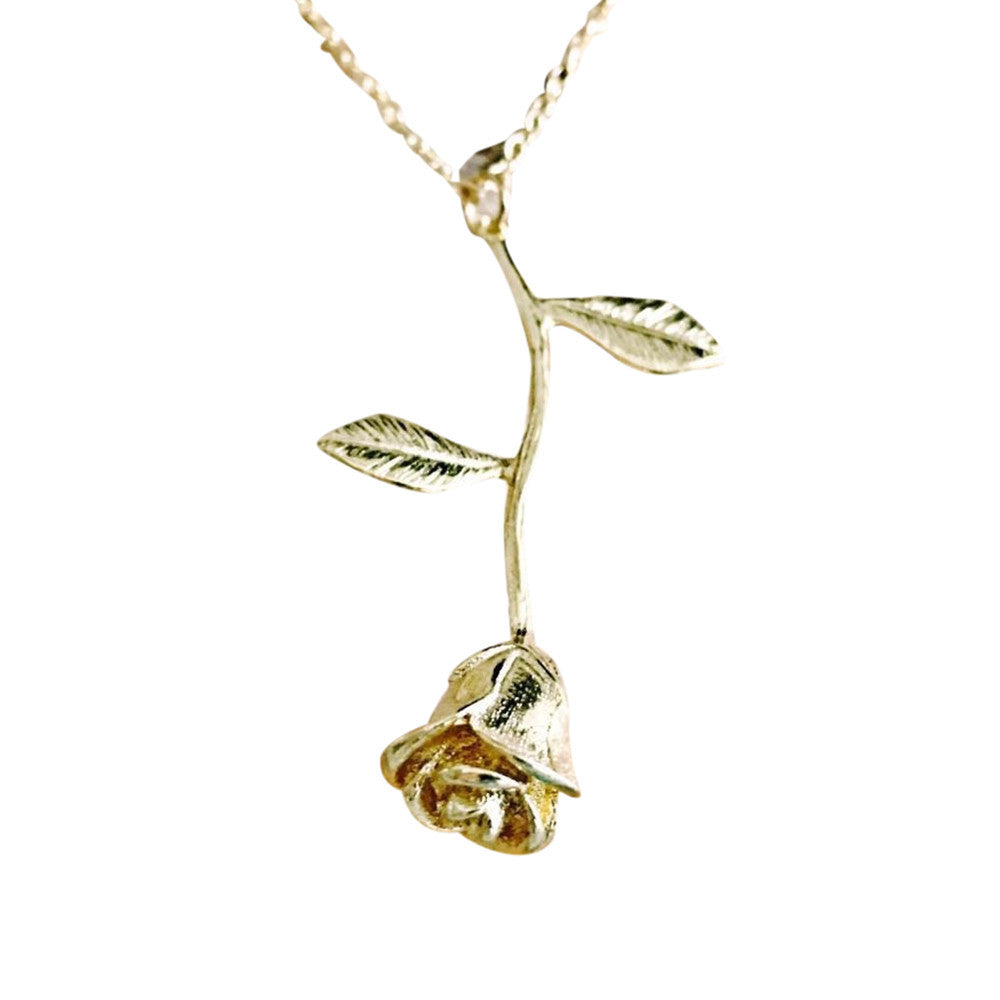 Necklace - Golden Rose - Women