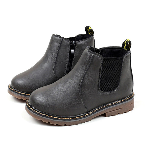 Boys Girls Boots Kids Shoes Sneakers Winter Children Boys Girls Martin Boots Handmade Leather Boots Baby Boys Girls Shoes