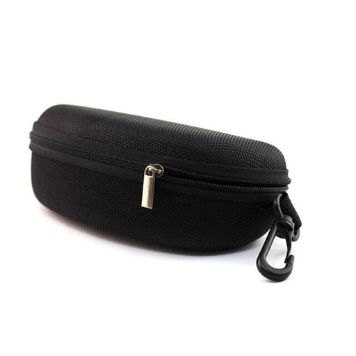 Package Eyewear cases hard black zip spectacle case  p01