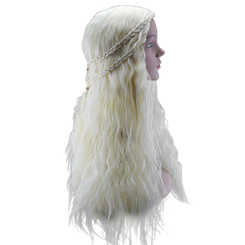 Long Curly Wig Women Cosplay Wig Ladies Costume Long Hair Wig