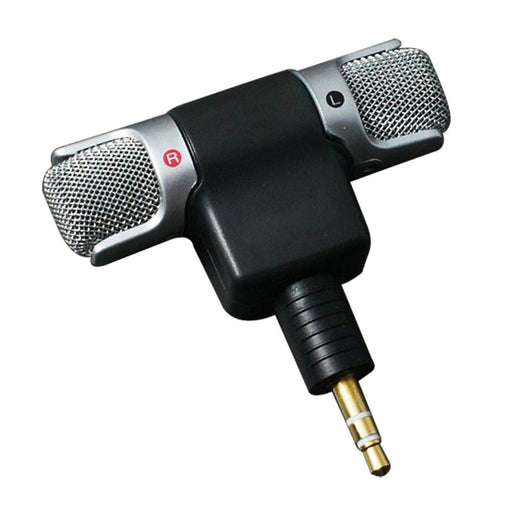 1pc New Mini Stereo Microphone Mic 3.5mm Mini Jack PC Laptop Notebook