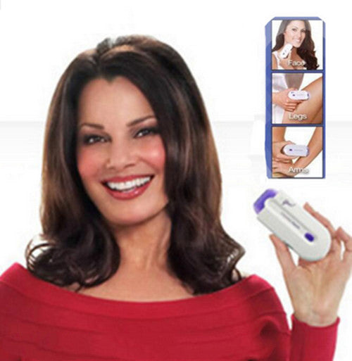 Touching Laser Hair Remover Instant & Pain Free Hair Removal Safely Face Body Epilator